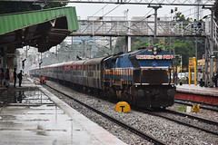 CBE-LTT Express (Debatra) Tags: 11014 40066 kjm krishnarajapuram bangalore bangaloredivision sbcdivn sbc bengaluru karnataka ynk yelahanka india southindia swr southwesternrailway cbeltt express indianrailways railways rail railroad railwaystation ir irfca d3300 nikon nikkor train emd diesel diesellocomotive dieseltraction wdp4b
