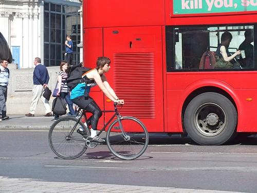 Lycra Cyclist