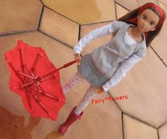 autumn is coming.... (fairy*flowers) Tags: momoko wild sexy tune rement umbrella boots barbie dress sekiguchi fashion miniature