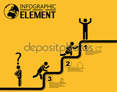 INFOGRAPHIC SIMPLE TEMPLATE WITH STEPS PARTS OPTIONS ELEMENTS LADDER OF SUCCESS (arezoobarzegar96) Tags: web element icon pc internet collection background sign symbol design technology yellow solution curve brainstorm idea innovation infographic timeline concept business diagram graph marketing simple increase stock statistic progress profit economy finance presentation market money flat bar management line pictogram button minimal number options geometric template sample simplicity elegant classy