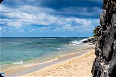 StrangeBeach (bffpicturesworld) Tags: beach color full sand blue rock water ocean cloud cloudy reunionisland iledelareunion bestplace landscape wow beautiful view