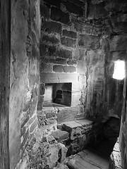 27vii2017 Stokesay 13 (garethedwards36) Tags: garderobe toilet stone monochrome black white lumix stokesay castle uk shropshire