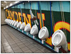 Camden Splash (donbyatt) Tags: london euston wallart loos urinals camdenlockbridge