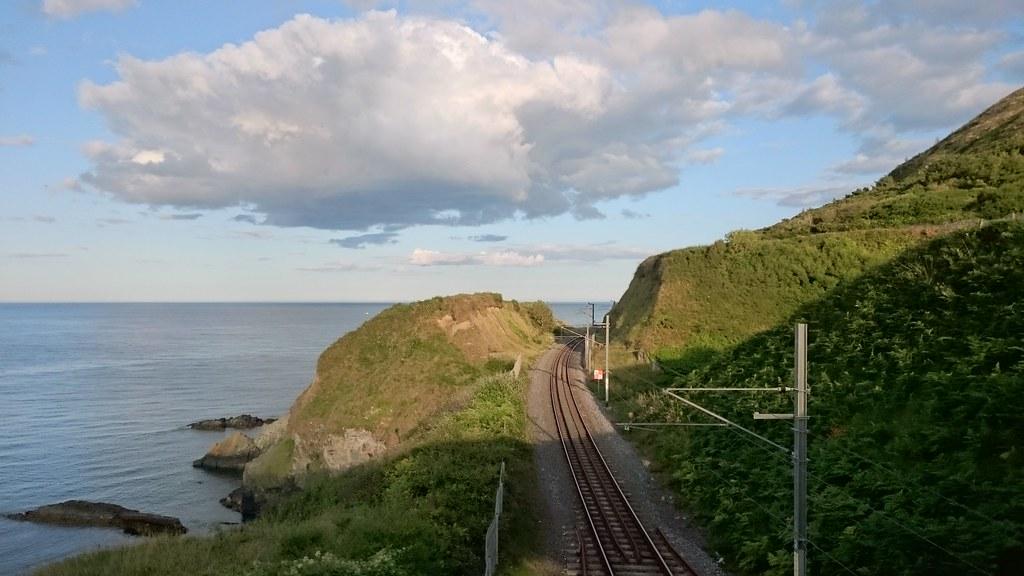 DART track to Greystones