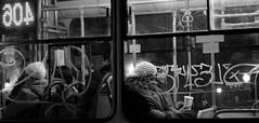 La 406 (negrominay) Tags: santiago chile city urban noche night micro bus publictransportation transportepublico street calle canon canoneos7d 50mm bw mono monochrome monocromático blackandwhite blancoynegro faces rostros gente people