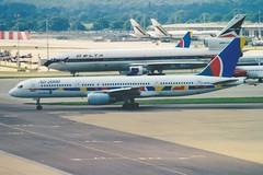 Boeing 757-28A C-GRYU (KenFCD) Tags: boeing 757200 cgryu air2000 gatwick