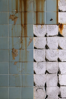 rust and grout.