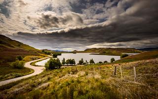 Loch an Ordain near Loch Ness