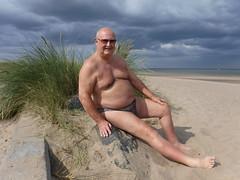 Huttoft (pj's memories) Tags: huttoft huskyinspeedos beach brief briefs speedos seaside tanthru kiniki marramgrass sunglasses slip sunbathing lincolnshire