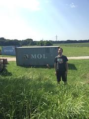 MOL spotting (RobotSkirts) Tags: eliot eliotphillips nebraska container mol shippingcontainer shirt