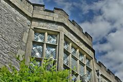 Windows (Bri_J) Tags: haddonhall bakewell derbyshire uk statelyhome nikon d7200 windows hdr clouds