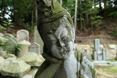 Resting Kannon statue at Daichi-ji Temple (大池寺) (Greg Peterson in Japan) Tags: 甲賀市 koka 滋賀県 shiga temples statues japan shigaprefecture