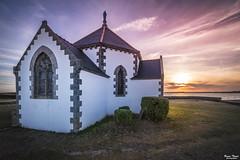 Chapelle Notre-Dame-de-la-Côte (Bruno. Thomé) Tags: pentaxk1 irix15mmf24 penvins chapelle notredamedelacôte coucherdesoleil paysage france morbihan bretagne