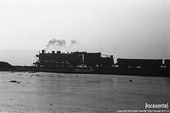 2015/10/5 SY1320 Fuxin (Pocahontas®) Tags: sy1320 steam engine locomotive old railway railroad rail train bw film 135film kodak tmax400 fuxin