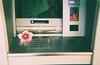 Cash machine (not flower machine) (prrimavera) Tags: film 35mm cash flower filmisnotdead werlisa club color fujifilm