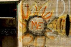 Me (LookSharpImages) Tags: lime oregon limeoregon abandoned abandonedspaces graffiti sun