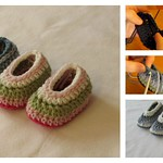 How to Crochet Easy Baby Slippers for Beginners thumbnail
