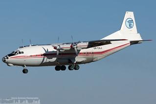 UR-CAJ Ukraine Air Alliance (UAA) Antonov An-12BK (LIS - LPPT)-3