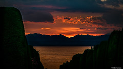 ...but fire in the sky (Codex IV) Tags: abends alpen alps backlit berge clouds gardasee himmel land landscape landschaft mountain nikond5300 pacengo see sky sonnenuntergang tamron240700 wasser water wolken acqua campagna campagne eau ensoleillé evening inserata lesoir nuages nuvole retroilluminato rot soleggiato sonnig sunny