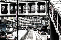 You're on the Road but you've got no Destination - Hongkong 35/188 (*Capture the Moment*) Tags: 2017 fahrzeugeverkehr fotowalk hongkong menschen people sonya7m2 sonya7mii sonya7mark2 sonya7ii sonyfe2470mmf4zaoss sonyilce7m2 strassen strassenscene street streetlife
