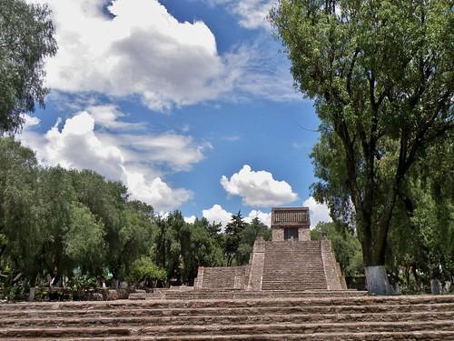 Zona Arqueológica Santa Cecilia Acatitlán