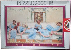 "EDUCA 3000 7.473 INTERLUDE SIR WILLIAM REYNOLDS STEPHENS (Andrew Reynolds transport view) Tags: jigsaw ""jigsaw puzzle"" picture pieces large difficult art educa 3000 7473 interlude sir william reynolds stephens"