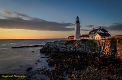Morning Light (Tangled Web Photography) Tags: portlandheadlight fortwilliams cascobay mainecoast capeelizabeth me seacoast downeast lighthouse maine newengland sunrise