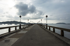 jetty (Greg Rohan) Tags: daybreak morning water jetty asia thailand phuket photography d7200 2017 sky storm clouds