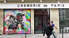 Eddie Colla & Jo Di Bona / Paris - 15 aug 2017 (Ferdinand 'Ferre' Feys) Tags: paris france streetart artdelarue graffitiart graffiti graff urbanart urbanarte arteurbano ferdinandfeys eddiecolla wheatpaste pasteup
