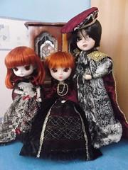 Érzbeth y familia. (it's_a_secret) Tags: dal dotori taeyang alfred dollte porte pullip stica jun planning groove dolls