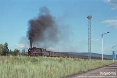 2017/7/24 SY1546 59Mine (Pocahontas®) Tags: sy1546 steam engine locomotive railway railroad rail train 135film kodak ultramax 400 135 canon eos30v