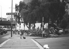State of The City of Oakland (larsupreme) Tags: kentmere100 blackwhite 35mm asahi pentax k1000
