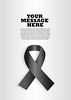 Black Ribbon Layout Design (DelphHealf) Tags: black ribbon remember remembrance mourning awareness campaign political war tragedy silver background layout design template page advertisement advertising magazine poster brochure commemorate commemoration victims 911 grief sadness dark vector illustration flyer copy space death massacre killing melanoma tortureprotest badge cause disease graphic isolated object life social symbol symbolism