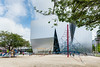 Exterior view, The Sumida Hokusai Museum (すみだ北斎美術館) (christinayan01 (busy)) Tags: sanaa kazuyo sejima architecture museum building perspective tokyo japan