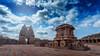 Stone chariot and Vithala temple (meghasai09shyam) Tags: hampi vithala temple stonechariot karnataka history vijayanagara india incredibleindia kingdom landscape clouds