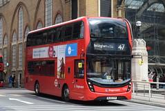 SL 13096 @ London Liverpool Street bus station (ianjpoole) Tags: stagecoach london alexander dennis enviro 400mhc bl65oyr 13096 working route 47 liverpool street station catford bus garage bellingham