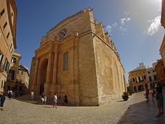 Ciutadella Cathedral (Matt C68) Tags: catedral de santa maría ciudadela ciutadella menorca basilica church spain fisheye