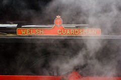 Welsh Guadsman 0-6-0 (clementsriley) Tags: 550 550d eos canon dslr 100 100mm 100mmf28lisusm tele telephoto gwili railway trains heritage old welsh guardsman loco locomotive steam wales south industrial