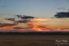 Sunrise on the Great Plains
