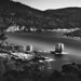 Atsitsa, Skyros, Greece. 6 minutes exposure, B&W treatment