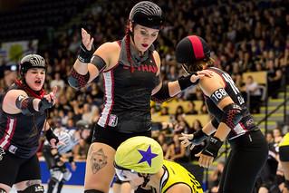 Crime City Rollers vs Gotham Girls Roller Derby