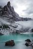 finally, the Lago di Sorapiss