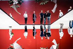 Spiegelwelt (Frank Lindecke) Tags: nordart kunstwerk carlshütte wwwnordartde
