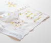 hankies (contemporary embroidery) Tags: embroidery doodles lace hexagons