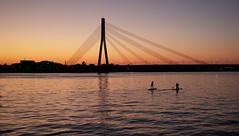 two (whitedeadly) Tags: summicron35 leica mp240 latvia sunset daugava river