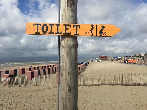Explicit toilet sign (Netherlands 2017)