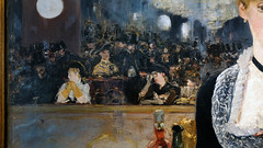 Manet, A Bar at the Folies-Bergère (detail), 1882