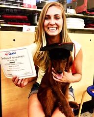 Molly Mae's Sunny graduated!