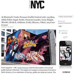 123 Klan at Under Pressure Graffiti Festival in Montreal -- more on StreetArtNYC.orf (LoisInWonderland) Tags: 123klan graffiti publicart muralart montreal canada graffitiart graffitifestival underpressure2017 underpressurefestival