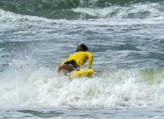 Baywatch.... (Jaedde & Sis) Tags: baywatch tv action practising lifeguard yellow challengefactorywinner unanimous thechallengefactory